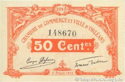 50 Centimes FRANCE régionalisme et divers ORLÉANS 1915 JP.095.04 pr.SPL