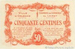 50 Centimes FRANCE régionalisme et divers ORLÉANS 1915 JP.095.04 SUP