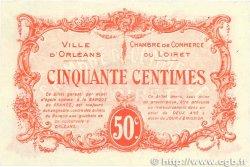 50 Centimes FRANCE régionalisme et divers ORLÉANS 1915 JP.095.04 TTB+