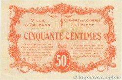 50 Centimes FRANCE régionalisme et divers ORLÉANS 1915 JP.095.04 TTB