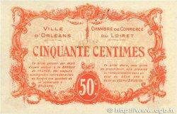 50 Centimes FRANCE régionalisme et divers Orléans 1915 JP.095.04 SPL+