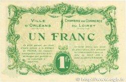 1 Franc FRANCE régionalisme et divers Orléans 1915 JP.095.06 pr.NEUF