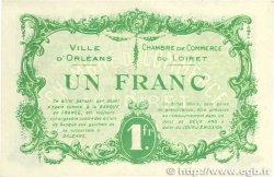 1 Franc FRANCE régionalisme et divers ORLÉANS 1915 JP.095.06 TTB
