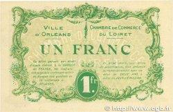 1 Franc FRANCE régionalisme et divers Orléans 1915 JP.095.06 pr.SPL