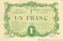 1 Franc FRANCE régionalisme et divers Orléans 1915 JP.095.06 TTB+