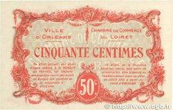 50 Centimes FRANCE régionalisme et divers ORLÉANS 1916 JP.095.08 pr.NEUF