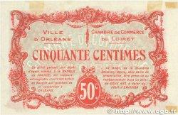 50 Centimes FRANCE régionalisme et divers Orléans 1916 JP.095.08 SUP+