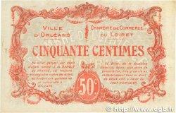 50 Centimes FRANCE régionalisme et divers ORLÉANS 1916 JP.095.08 TTB+