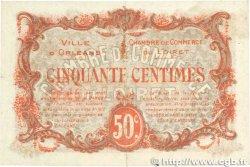 50 Centimes FRANCE régionalisme et divers Orléans 1916 JP.095.08 TTB