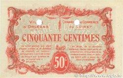 50 Centimes FRANCE régionalisme et divers ORLÉANS 1916 JP.095.10 SPL