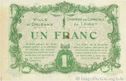 1 Franc FRANCE régionalisme et divers Orléans 1916 JP.095.12 SUP+