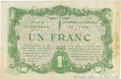 1 Franc FRANCE régionalisme et divers ORLÉANS 1916 JP.095.12 TTB+