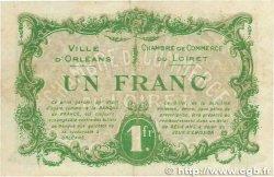 1 Franc FRANCE régionalisme et divers ORLÉANS 1916 JP.095.12 TTB