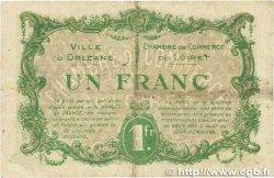 1 Franc FRANCE régionalisme et divers ORLÉANS 1916 JP.095.12 TB