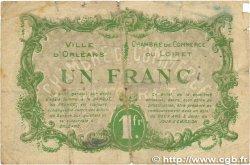 1 Franc FRANCE régionalisme et divers ORLÉANS 1916 JP.095.12var. B