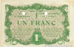 1 Franc FRANCE régionalisme et divers ORLÉANS 1916 JP.095.14 SUP+