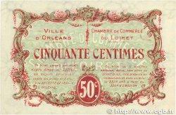 50 Centimes FRANCE régionalisme et divers ORLÉANS 1917 JP.095.16 SUP+