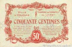 50 Centimes FRANCE régionalisme et divers ORLÉANS 1917 JP.095.16 TTB+