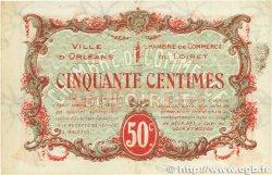 50 Centimes FRANCE régionalisme et divers ORLÉANS 1917 JP.095.16 TTB