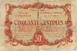 50 Centimes FRANCE régionalisme et divers ORLÉANS 1917 JP.095.16 B