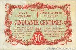 50 Centimes FRANCE régionalisme et divers ORLÉANS 1917 JP.095.16 SUP