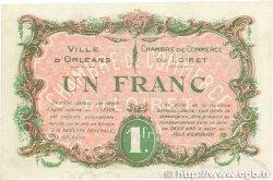 1 Franc FRANCE régionalisme et divers ORLÉANS 1917 JP.095.17 TTB+