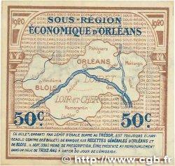 50 Centimes FRANCE régionalisme et divers Orléans et Blois 1920 JP.096.01 pr.SPL