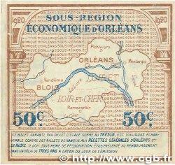 50 Centimes FRANCE régionalisme et divers ORLÉANS et BLOIS 1920 JP.096.01 SUP