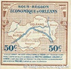 50 Centimes FRANCE régionalisme et divers ORLÉANS et BLOIS 1920 JP.096.01 TTB+