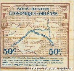 50 Centimes FRANCE régionalisme et divers Orléans et Blois 1920 JP.096.01 TTB