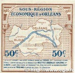 50 Centimes FRANCE régionalisme et divers ORLÉANS et BLOIS 1920 JP.096.01 SUP+