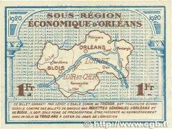 1 Franc FRANCE régionalisme et divers ORLÉANS et BLOIS 1920 JP.096.03 SPL
