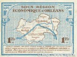 1 Franc FRANCE régionalisme et divers ORLÉANS et BLOIS 1920 JP.096.03 SUP+