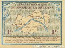 1 Franc FRANCE régionalisme et divers Orléans et Blois 1920 JP.096.03 SUP