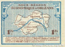 1 Franc FRANCE régionalisme et divers ORLÉANS et BLOIS 1920 JP.096.03 TTB+
