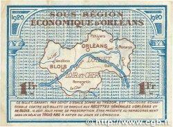 1 Franc FRANCE régionalisme et divers Orléans et Blois 1920 JP.096.03 TTB