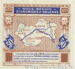 50 Centimes FRANCE régionalisme et divers Orléans et Blois 1921 JP.096.05 SUP