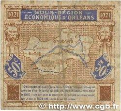 50 Centimes FRANCE régionalisme et divers Orléans et Blois 1921 JP.096.05 B