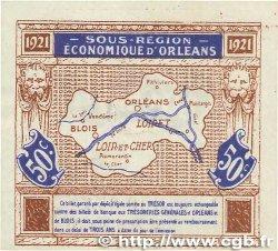 50 Centimes FRANCE régionalisme et divers Orléans et Blois 1921 JP.096.05 SUP+