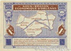 1 Franc FRANCE régionalisme et divers ORLÉANS et BLOIS 1921 JP.096.07 SUP+