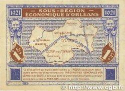 1 Franc FRANCE régionalisme et divers Orléans et Blois 1921 JP.096.07 TTB