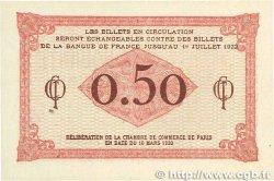 50 Centimes FRANCE régionalisme et divers Paris 1920 JP.097.10 SPL