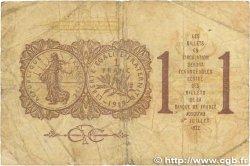 1 Franc FRANCE régionalisme et divers Paris 1920 JP.097.23 B