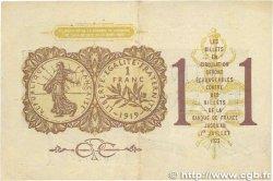 1 Franc FRANCE régionalisme et divers Paris 1920 JP.097.23 TTB