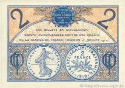 2 Francs FRANCE régionalisme et divers PARIS 1920 JP.097.28 TTB+