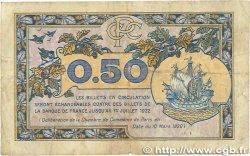 50 Centimes FRANCE régionalisme et divers PARIS 1920 JP.097.31 B