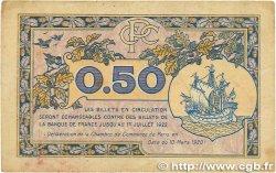 50 Centimes FRANCE régionalisme et divers Paris 1920 JP.097.31 TB