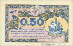 50 Centimes FRANCE régionalisme et divers Paris 1920 JP.097.31 TTB