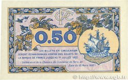 50 Centimes FRANCE régionalisme et divers PARIS 1920 JP.097.31 SPL