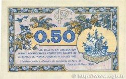 50 Centimes FRANCE régionalisme et divers  1920 JP.097.31var. TTB
